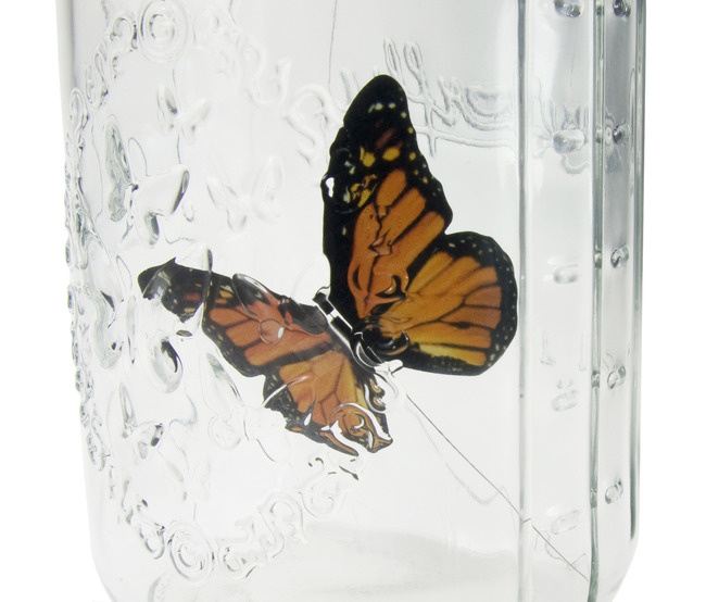 Draht am Elektronischen Schmetterling