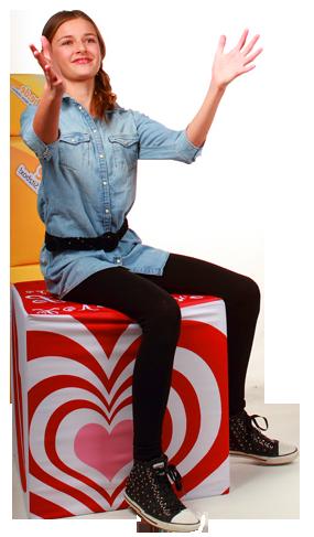 Gestalte Deinen eigenen Sitzwürfel bei mycube