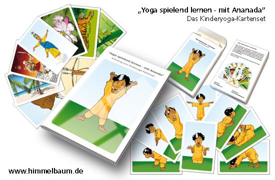 Spielend Yoga lernen mit Ananda