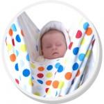 Schlafendes Baby im SnuggleBundl