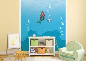 Meerjungfrauwand